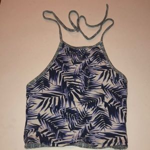 REVERSIBLE crop top from PacSun